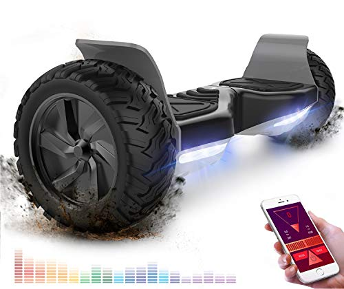 RCB Hoverboard Overboard Tout Terrain Auto-équilibrant Scooter électrique Gyropode 8.5...