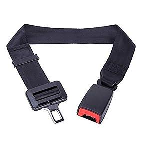 Cinturon de seguridad丨Ajustable Cinturón de coche丨Embarazadas ancianos asientos Niño obesidad丨Homologado (80CM)