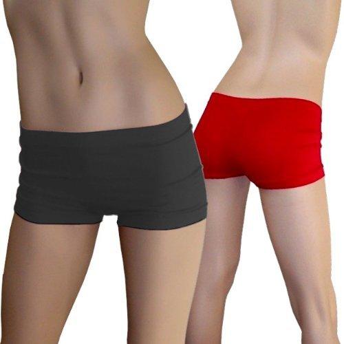 Seamless Boyshorts Underwear Accessory - One Size - Dress Size 6-12