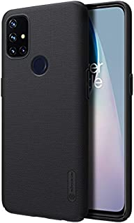 Oneplus Nord N10 5G Case Cover Original Nillkin Super Frosted Shield Matte cover case for Oneplus Nord N10 5G (Black) by N...