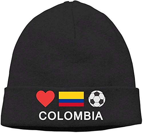 SVDziAeo Thick Woolen Cap for Mens and Womens, Colombia Football Colombia Soccer Ski Cap one 31552