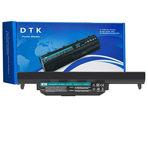 DTK A32-K55 Laptop Akku für Asus X75 X75A X75V K55 K55A R500V A45 A55 A75 K45 K75 R400 R500 R700 X45 X55 U57 A33-K55 A41-K55 10.8V 5200mAh