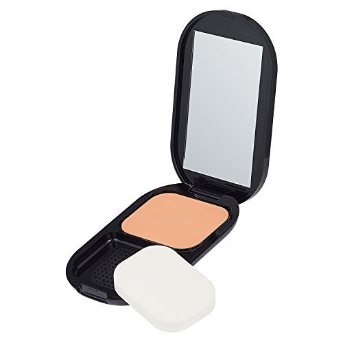 Max Factor Facefinity Compact Make-up Sand 005 – Puder Foundation für ein mattes Finish – 1 x 10 g