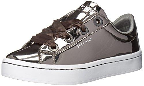Skechers Damen Hi Lite - Liquid Bling Sneaker, Grau (Pewter), 40 EU