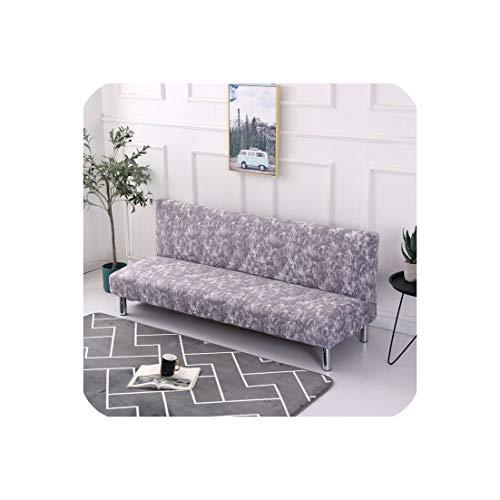 Funda plegable para sofá cama, 3 tamaños, sin reposabrazos, para sofá, cama, sofá, cama, para sala de estar, color 7,XL, 190-220 cm.