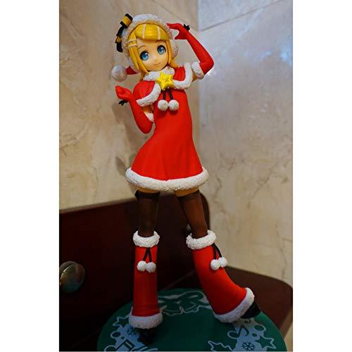 VENDISART Figura de Anime Figura de Anime Original Vocaloid Hatsune Miku Christmas Ver Figura de acción Modelo Coleccionable Juguetes para niños