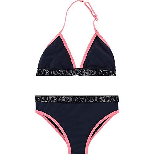 Vingino Mädchen Girls 2tlg. Bikini ZELVIRA Dark Blue (152)