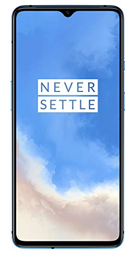 "OnePlus 7T Smartphone Glacier Blue | 6.55""/16,6 cm AMOLED Display 90Hz Screen 
