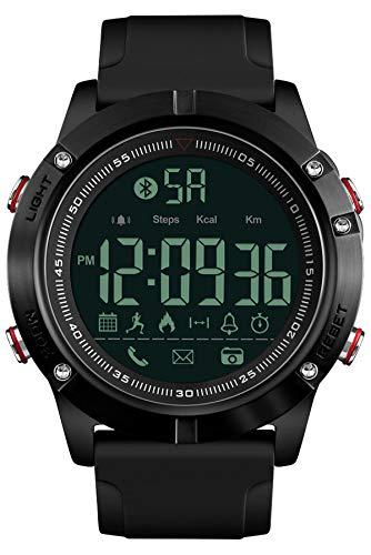 orologio da polso con contapassi Orologio da polso da uomo con Bluetooth
