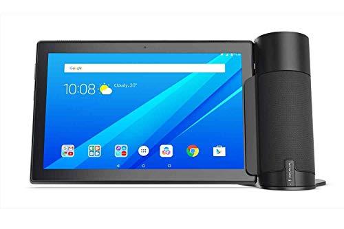 Lenovo Tab 4 10 (TB-X304L) 10.1' FHD Tablet-PC Bundle with Tab 4 Home Assistant Speaker, Qualcomm MSM8917, 2GB RAM, 16GB eMMC, Android 7.1 - Black - ZA2K0075GB