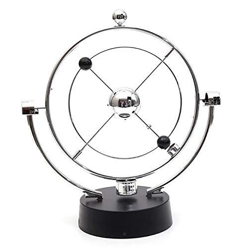 GYY Rotating Celestial Body Perpetual Instrument Ornaments Physical Newton Pendulum Balls Magnetic Rockers Cosmic Galaxy Orbital Chaotic Desktop Globes Dynamic Art Ornaments Decompression Toys