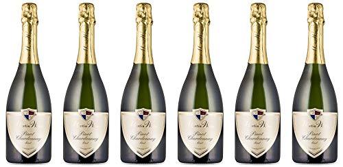 2016 Martin Waßmer Pinot Chardonnay brut Sekt (6x0,75l)
