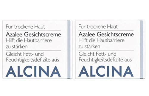 2er T Azalee Gesichtscreme Pflegende Kosmetik Alcina hilft die Hautbarriere zu stärken je 50 ml = 100 ml