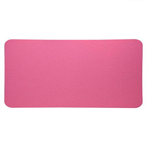 Cojín del escritorio de oficina, cojín de tabla casero de los materiales de la protección del medio ambiente para el negocio de la oficina(pink)