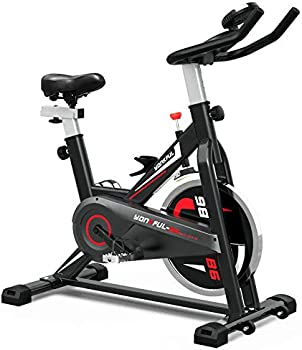 Yonkful Cardio Exercise Equipment Bikes With LCD Display