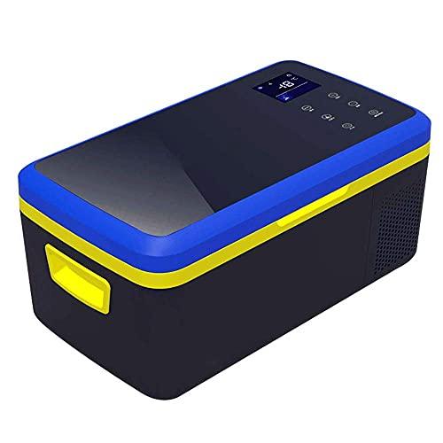 RTOFO Compresor de refrigeración inteligente Control de temperatura para coche Refrigerador congelador mini refrigerador mini 12/24 V DC