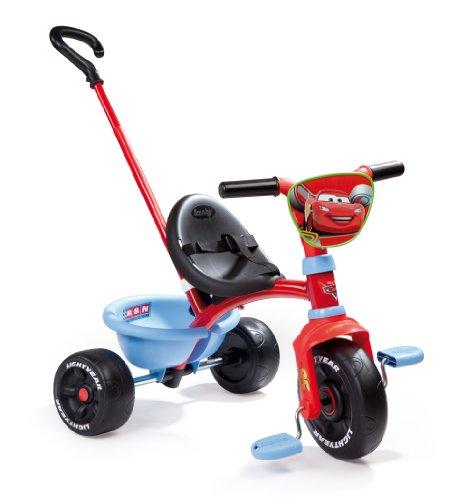 Smoby - 444184 - Vélo et Véhicule pour Enfant - Cars Tricycle Be Move