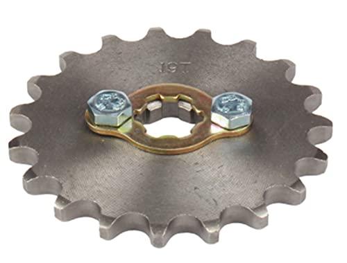 équipement 420 420H Cadena de 17 mm 10 -19 Dientes Frontal Motor Sprockets Fit para Taotao Fit para KAOTAO FIT FAY FIT FOR para XMOTOS FIT FOR para Apollo Fit para SSR 110 125cc Fit para Dirt Pit Bike