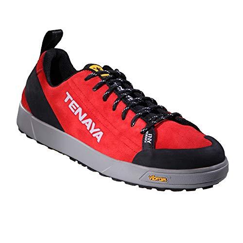 Tenaya Nes RED 40 EU Zapatillas de Senderismo o Ciudad, Rojo