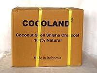水タバコ・シーシャ用品 Shisha Charcoal COCOLAND Sサイズ 1ケース(1Kg×20箱入)