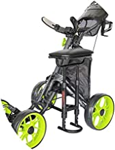 Caddytek Golf Push Cart Removable Seat - Lightweight, Compact & Easy to Use Outdoor Sports - For CaddyCruiser ONE & CaddyLite One Series Cart