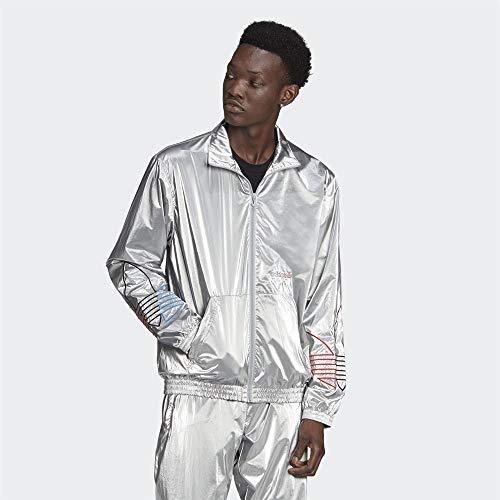 adidas Herren Tricol Tt Slvr Pullover, Silver Metallic, XL EU