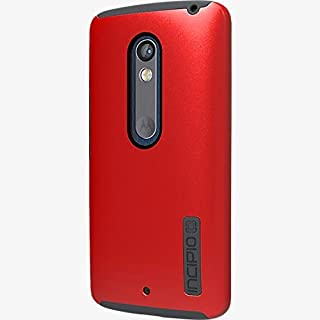 Incipio DualPro Dual Layer Cover Case for Droid Maxx 2 - Matte Dark Red / Black