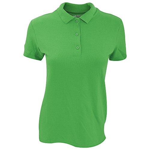 Gildan Damen Premium Polo-Shirt, Kurzarm (Small) (Irisches Grün)