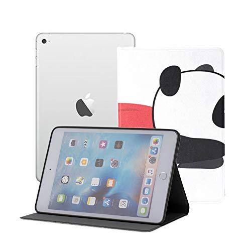 Ipad Mini Case Little Panda Super Hero Flies Air Case for Ipad Mini 3/2/1,Ultra Slim Lightweight Smart Case Cover Stand with Flexible Soft TPU Back Cover[auto Sleep/Wake]