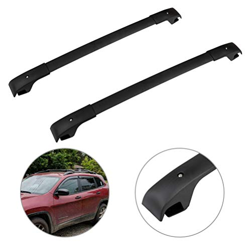 SCITOO fit for Jeep Cherokee 2014 2015 2016 2017 2018 2019 Aluminum Alloy Roof Top Cross Bar Set Rock Rack Rail -  106587-5206-1837086521