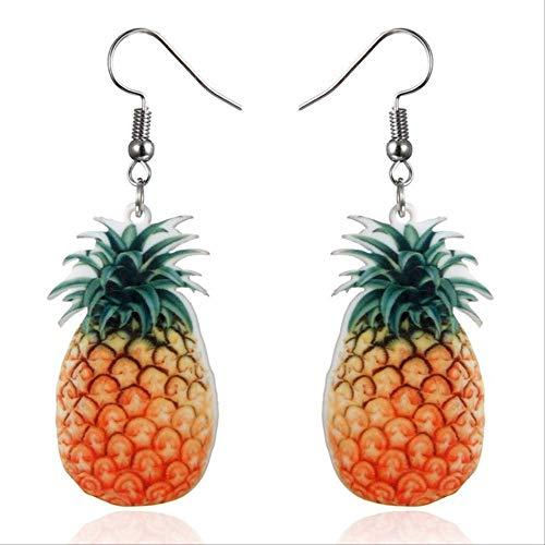 Geschenke Ohrringe Obst Ohrringe Wodka Bottle Drop Ohrringe Transparente Flasche Dangle Ohrringe für Frauen Mädchen5