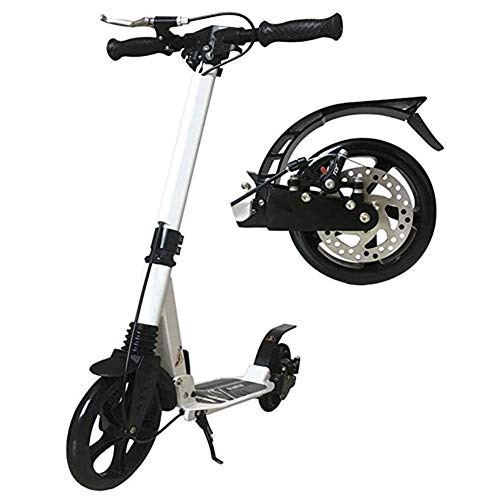 Lowest Price! Goquik Kick Scooter for Adult Children, Kick Scooter with Disc Hand Brake, Folding Dou...