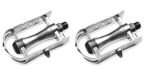 Fahrradpedale, Retro, Vintage, aus Aluminium, für Rennrad, Fixie, M-14 3195