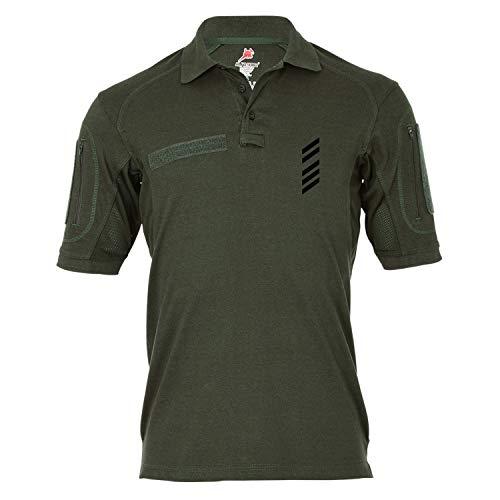 Copytec Tactical Poloshirt Alfa - Oberstabsgefreiter OSTGefr OSG Dienstgrad BW #19261, Größe:5XL, Farbe:Oliv