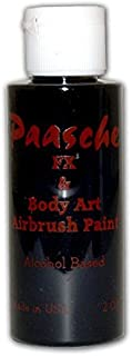 Paasche 2-Ounce Tattoo Paint, Black