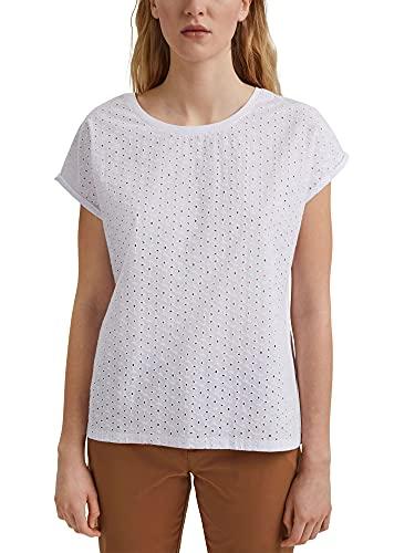 edc by Esprit 031cc1k312 T-Shirt, 100/bianco, M Donna