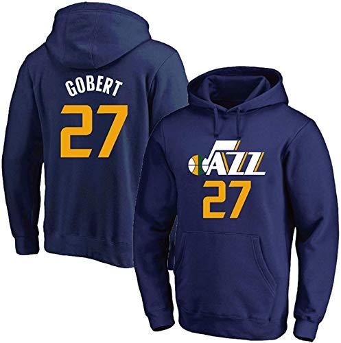Sudadera con capucha para jóvenes, Rudy Gobert 27# de la NBA, sudadera deportiva de manga larga, unisex, el mejor regalo de cumpleaños S-3XL, unisex (color: A, talla: XL)