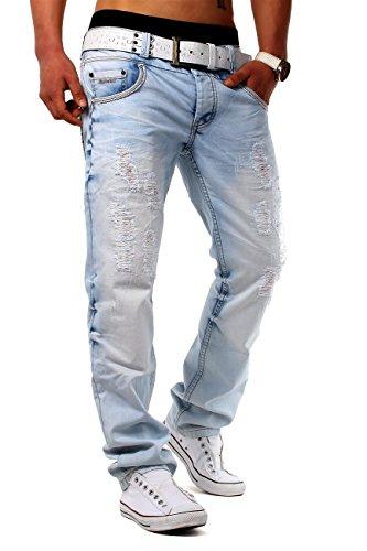 ArizonaShopping Herren Jeans Skyripper ID1283 Slim Fit (Gerades Bein), Größe Jeans:W30