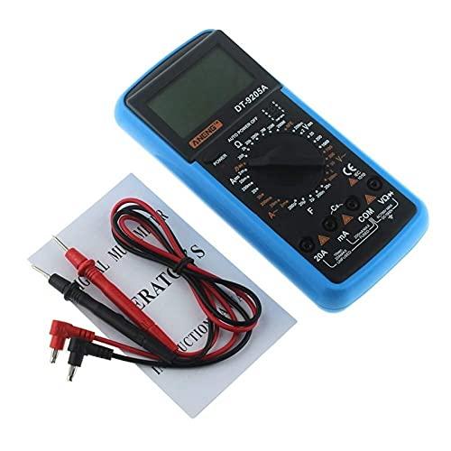 RENJIFAN Nueva dt9205a hFE AC DC Pantalla LCD Handheld eléctrico profesional del metro del probador multímetro digital Multimetro amperímetro Multitester
