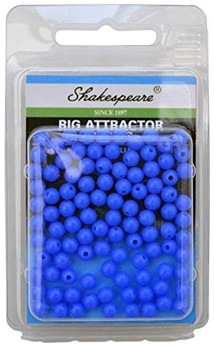 SHAKESPEARE 5mm Rig Atrractor Beads Blue 100pcs by
