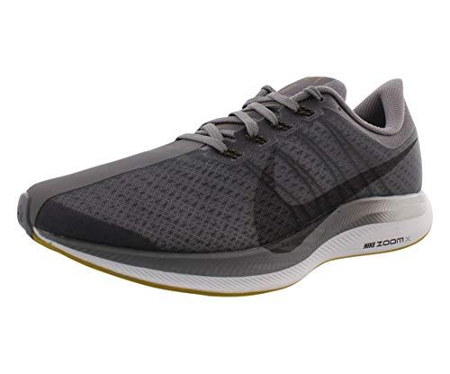 Nike Air Zoom Pegasus 35 Turbo Zapatillas de correr para hombre (11, negro/gris)