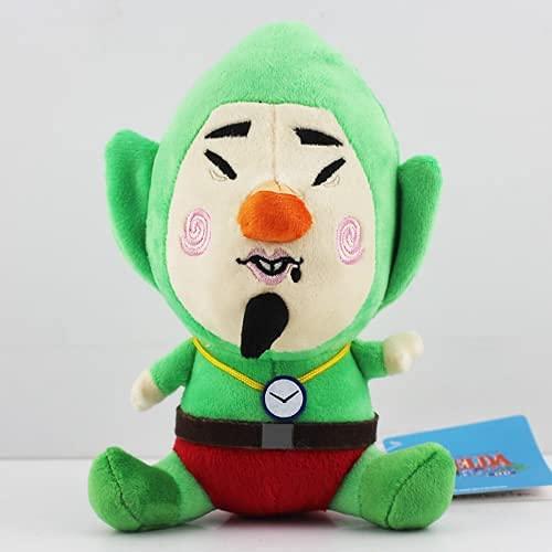Zelda serie Zelda felpa Cartoon Link Boy con espada de peluche de juguete de peluche muñecas niños regalo regalos 25 cm