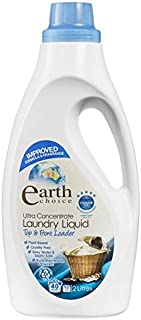 Earth Choice Ultra Concentrated Laundry Liquid Top Front Load 2 Ltr