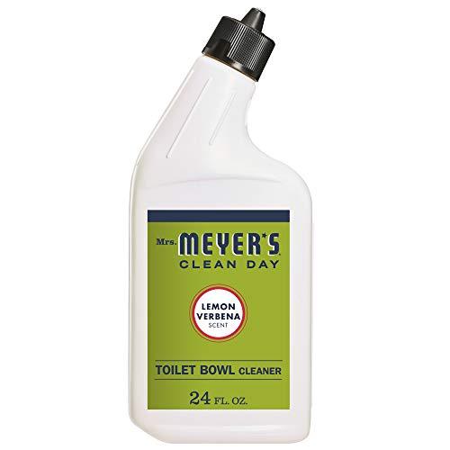 Mrs. Meyer's Clean Day Liquid Toilet Bowl Cleaner, Stain Removing, Lemon Verbena Scent, 24 oz