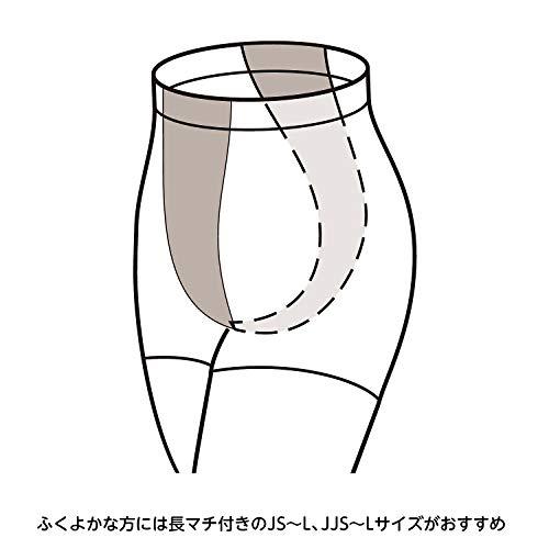 [セシール]ストッキング素肌のような透明感が魅力の同色10足組つま先メッシュ補強PR-288レディースライトベージュ日本L-LL-(日本サイズL相当)