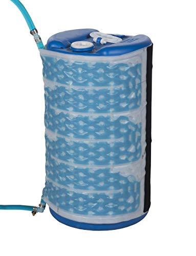 Read About Powerblanket FLUX15 15-gal Flux Wrap Jacket W/Insulation Wrap, 0.625″ Height, 22.75″ Width, 47″ Length, Light Blue