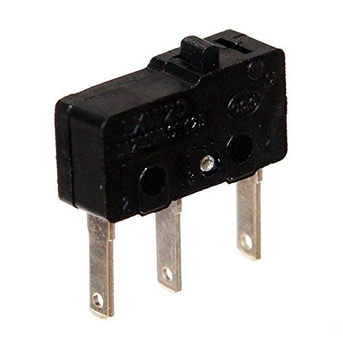 1 Mini Mikrotaster 3-polig Microswitch Öffner Schließer Taster Mikroschalter Flipper Geldspieler Neu Joy-Button