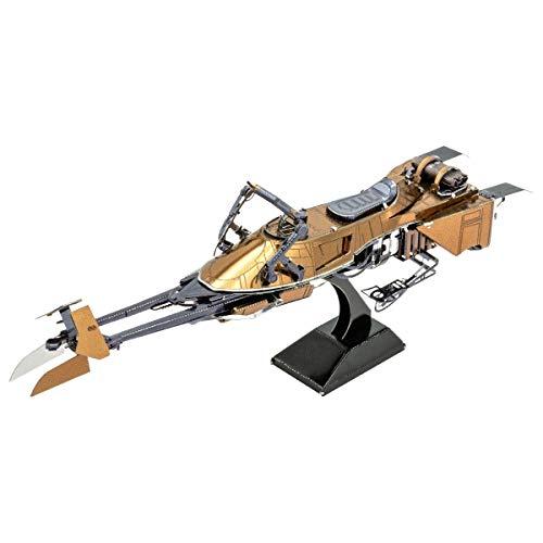METAL EARTH MAQUETA / PUZZLE 3D De metal. - STAR WARS SPEEDER BIKE - Monta tus modelos favoritos en casa. (MMS414)