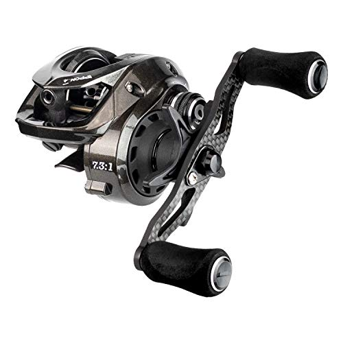 Enigma Fishing IPPON IPF100 Baitcasting Reels, Low Profile Baitcasters, Carbon Fiber Drag, Flipping - Pitching – Magnetic Braking System – Spool High-Speed Ceramic Bearings – No Ordinary Reel