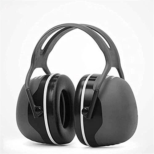 BDRSLX Orejeras insonorizadas, dormir, dormir, aprendizaje industrial, auriculares silenciosos, anti-ruido profesional, Reducción contra ruido cómodo (Color: Negro, Tamaño: 37dB) (Color: Negro, Tamaño